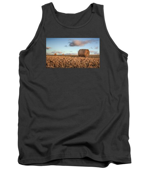 Bundy Hay Bales #7 Tank Top by Brad Grove