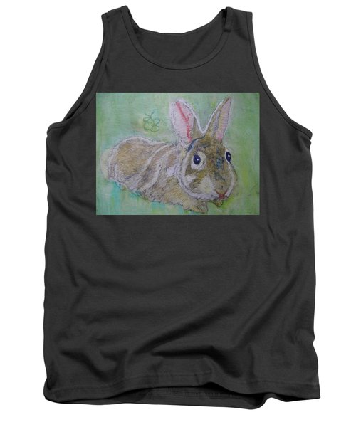 bunny named Rocket Tank Top