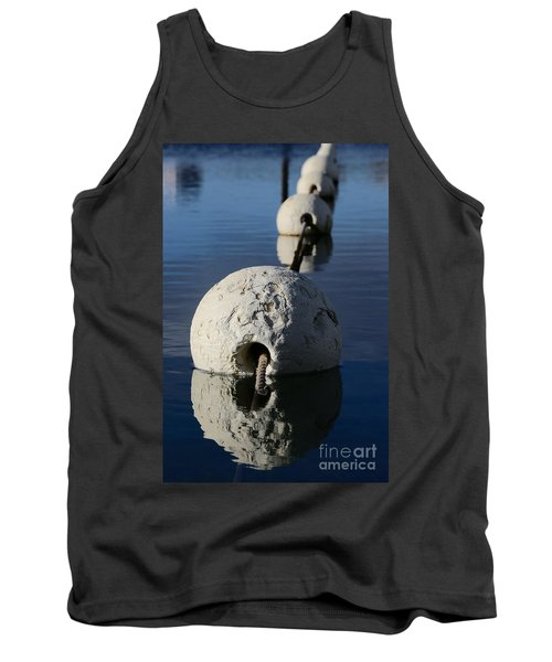 Tank Top featuring the photograph Buoy In Detail by Stephen Mitchell