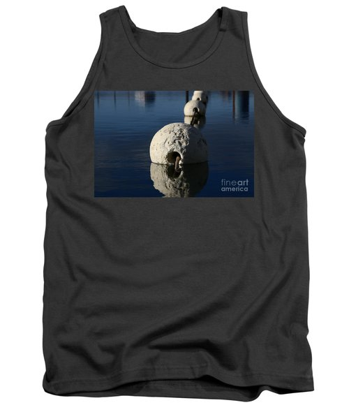 Tank Top featuring the photograph Buoy Upfront by Stephen Mitchell