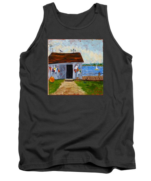 Buoys Will Be Buoys Tank Top by Diane Arlitt