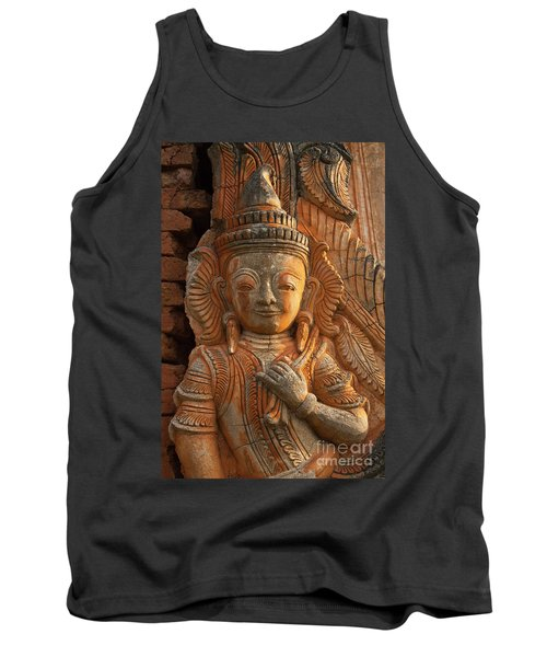 Tank Top featuring the photograph Burma_d187 by Craig Lovell