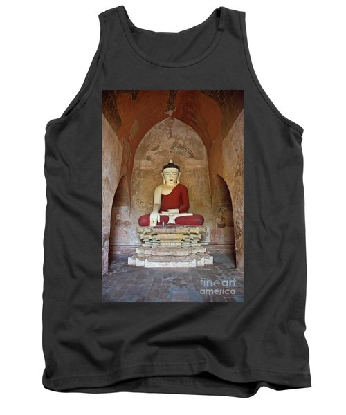 Tank Top featuring the photograph Burma_d2078 by Craig Lovell