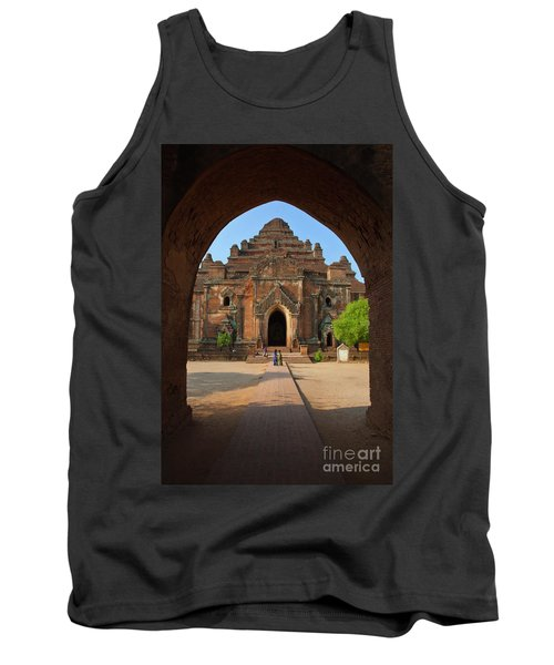 Tank Top featuring the photograph Burma_d2095 by Craig Lovell