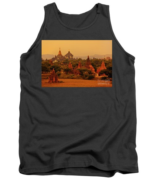 Tank Top featuring the photograph Burma_d2136 by Craig Lovell