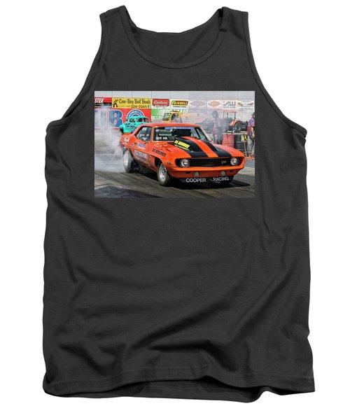 Burn Out Cooper Racing Tank Top