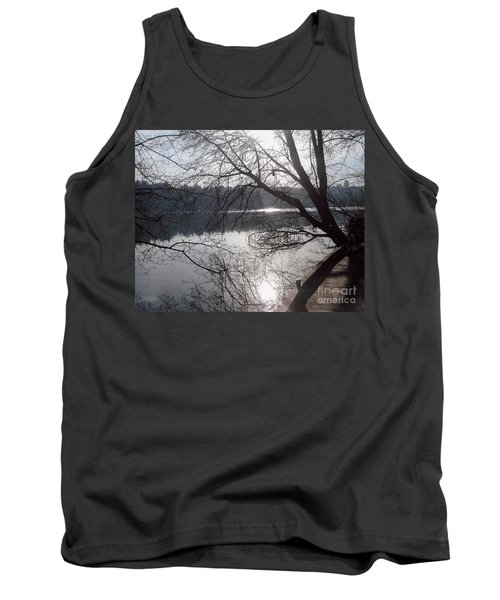 Tank Top featuring the photograph Burnaby Walk by Kim Prowse
