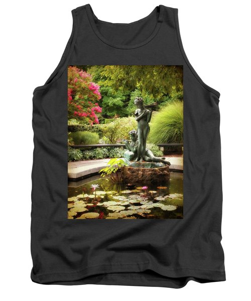 Burnett Fountain Garden Tank Top