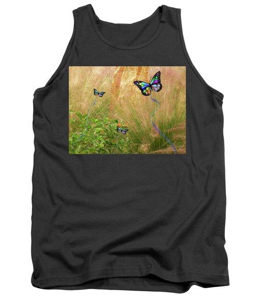 Buterflies Dream Tank Top