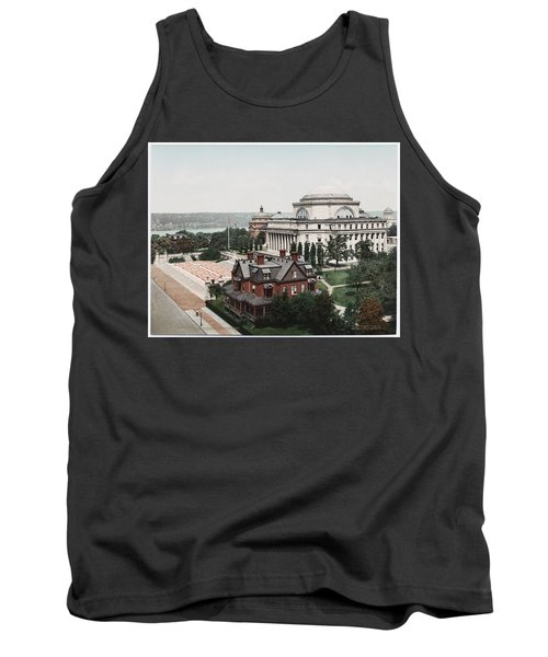 Butler Library At Columbia University Tank Top