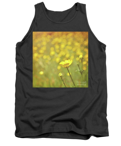 Buttercups Tank Top by Lyn Randle