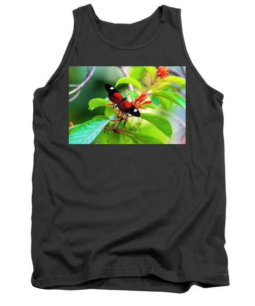 Tank Top featuring the photograph Butterfly  by David Morefield