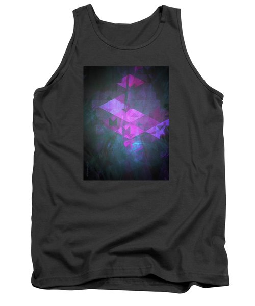Tank Top featuring the digital art Butterfly Dreams by Mimulux patricia no No