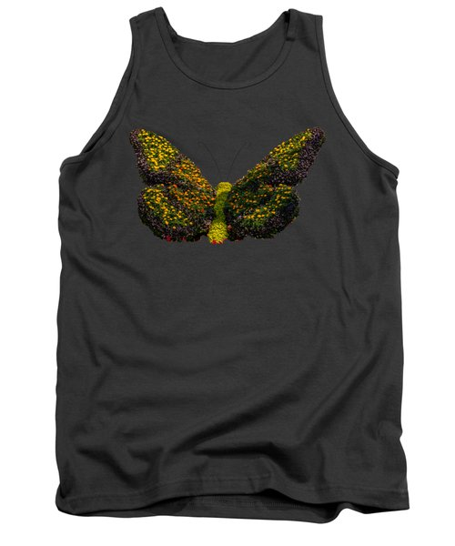 Butterfly From Flowers Tank Top