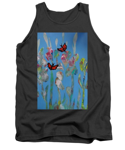 Butterfly Glads Tank Top