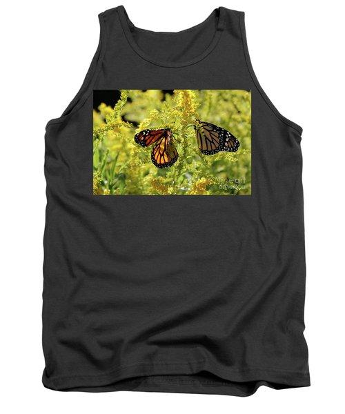 Butterfly In Fall  Tank Top
