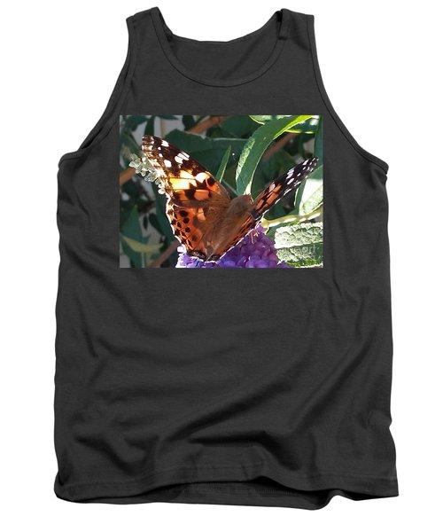 Butterfly Landing Tank Top