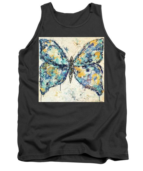 Butterfly Love Tank Top by Kirsten Reed