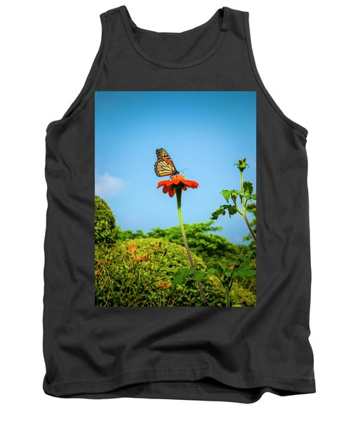 Butterfly Perch Tank Top