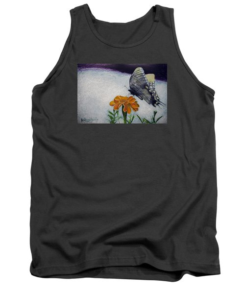 Butterfly Tank Top by Ron Richard Baviello