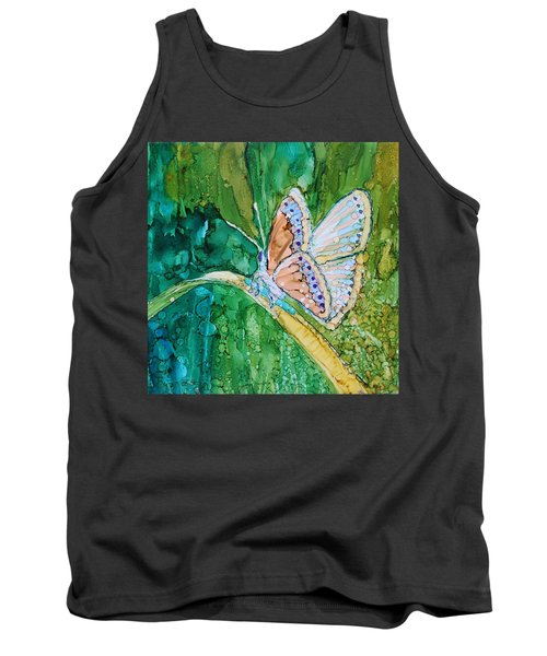 Butterfly Tank Top by Ruth Kamenev