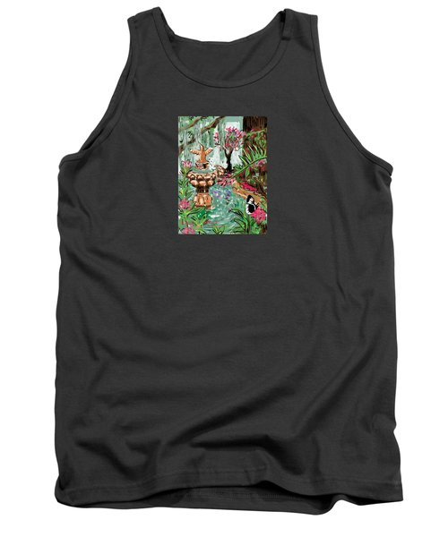 Butterfly World Tank Top by Jean Pacheco Ravinski