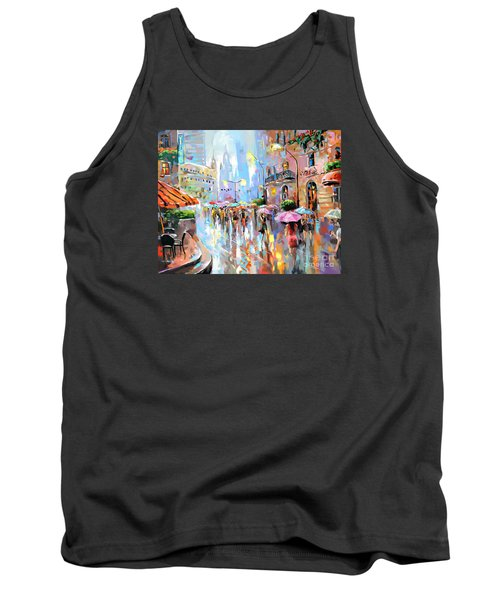 Buzy City Streets Tank Top by Tim Gilliland