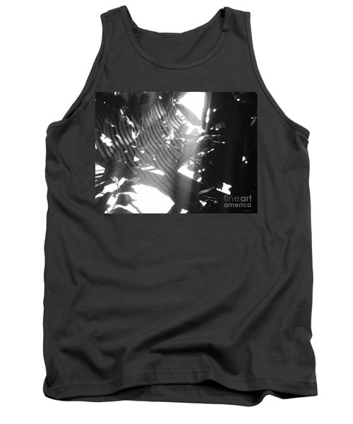 Tank Top featuring the photograph Bw Radiance by Megan Dirsa-DuBois