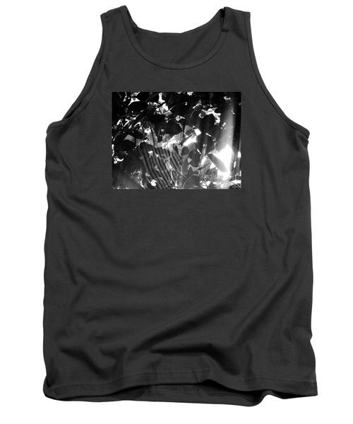 Tank Top featuring the photograph Bw Spider Phenomena by Megan Dirsa-DuBois
