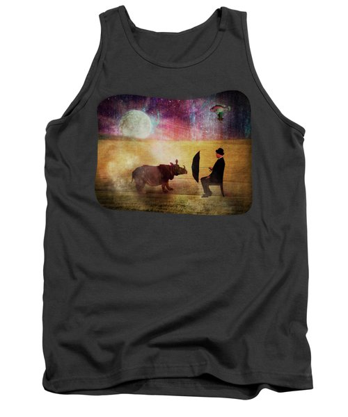 By The Light Of The Moon Tank Top by Terry Fleckney