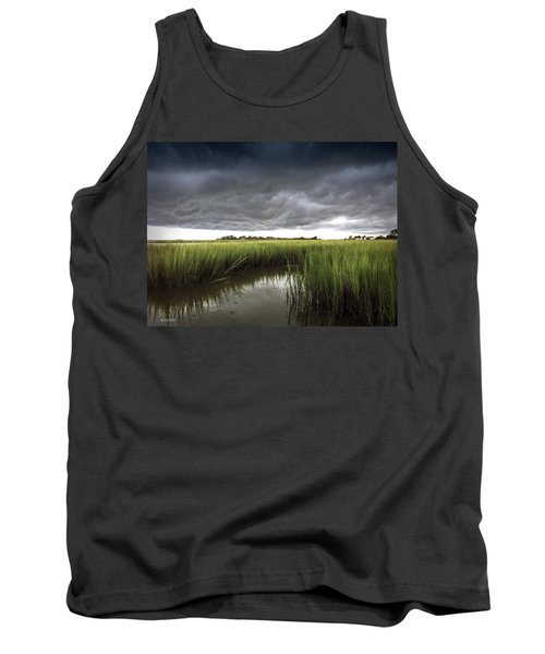 Cabbage Inlet Cold Front Tank Top by Phil Mancuso