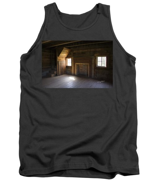 Cabin Home Tank Top by Ricky Dean