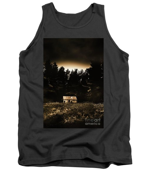 Cabin In The Woodlands  Tank Top