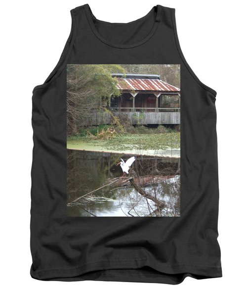 Cabin On The Bayou Tank Top