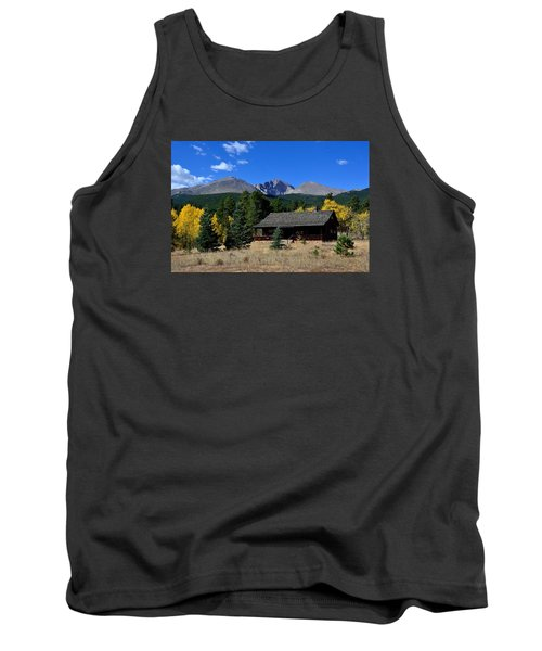 Cabin With A View Of Long's Peak Tank Top