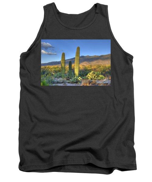 Cactus Desert Landscape Tank Top