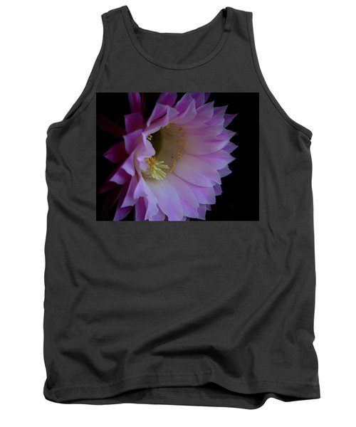 Cactus Easter Lily Bright Tank Top by Marna Edwards Flavell