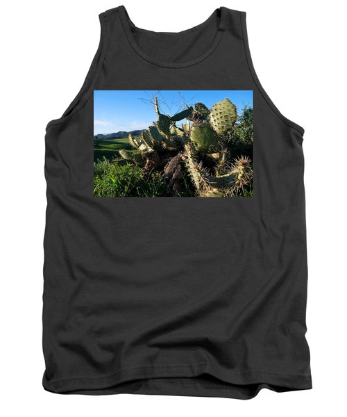 Cactus In The Mountains Tank Top