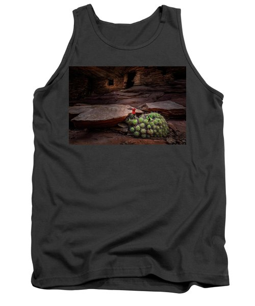 Cactus On Fire Tank Top