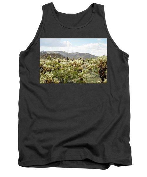 Cactus Paradise Tank Top by Amyn Nasser