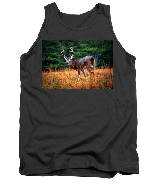 Cades Cove - The Buck Stopped Here 002 Tank Top