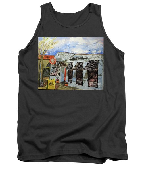 Cafe Espresso Tank Top