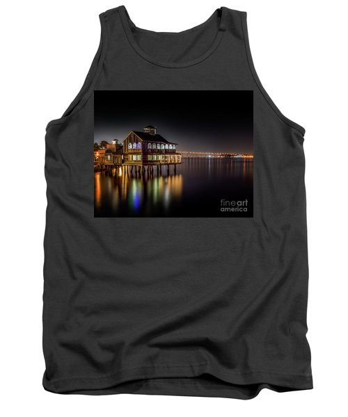 Cafe On The Port Tank Top