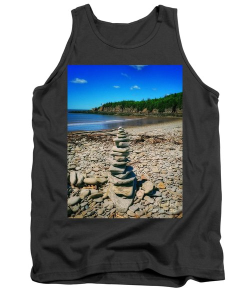 Cairn In Eastern Canada Tank Top