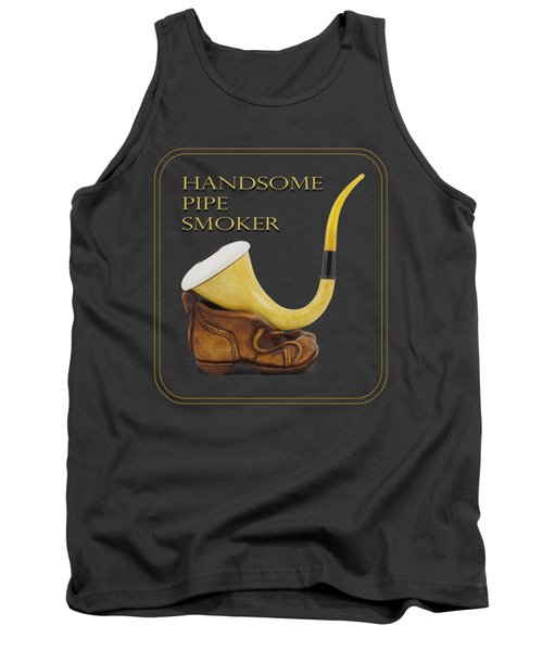 Calabash Pipe For Handsome Smokers Tank Top