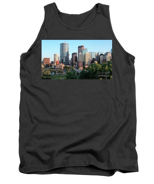 Calgary 2 Tank Top by Victor K