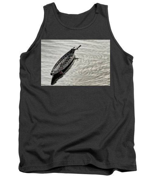 Calgary Dragon Boat Tank Top by Brad Allen Fine Art