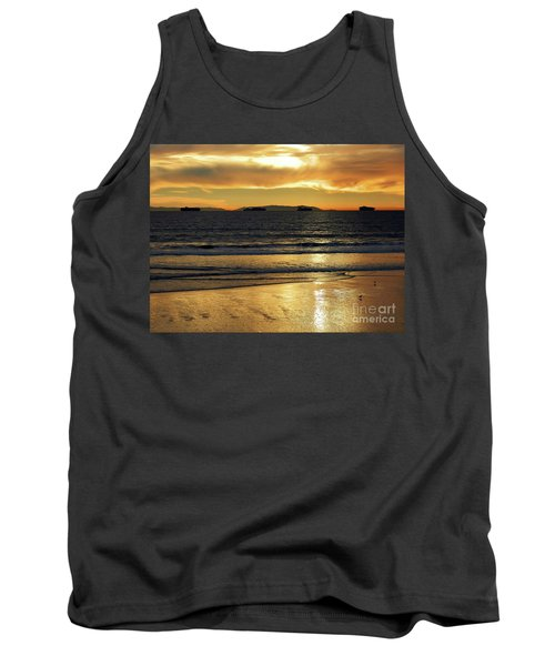 Tank Top featuring the photograph California Gold by Everette McMahan jr