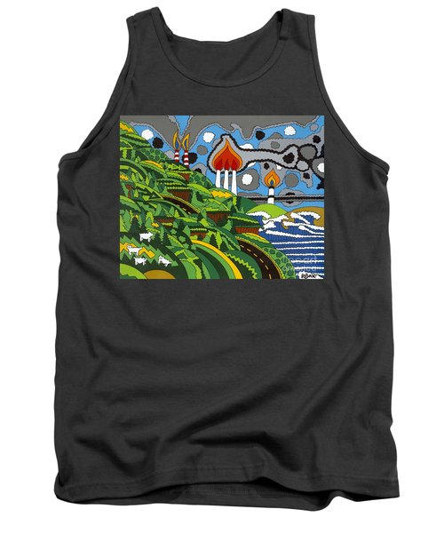 California Highway 1 Tank Top