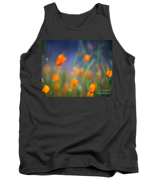 California Poppies 2 Tank Top